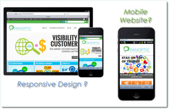 Mobile Website vs Responsive Design