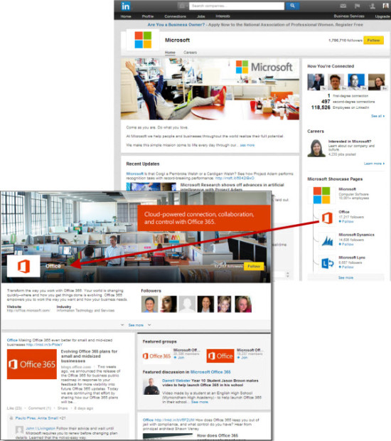 LinkedIn SHowcase Pages | Panoptic Online Marketing, LLC