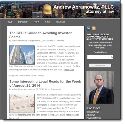 Solo Law Practice and Small Law Firm Marketing