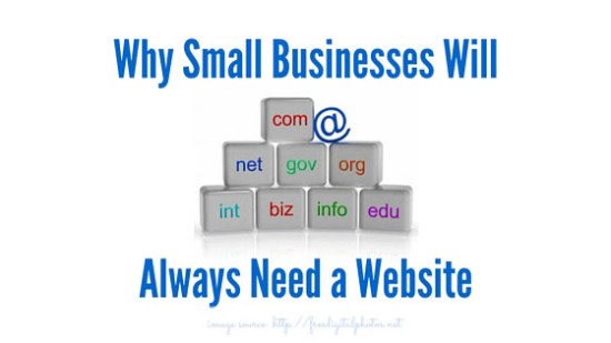 Small businesses need website