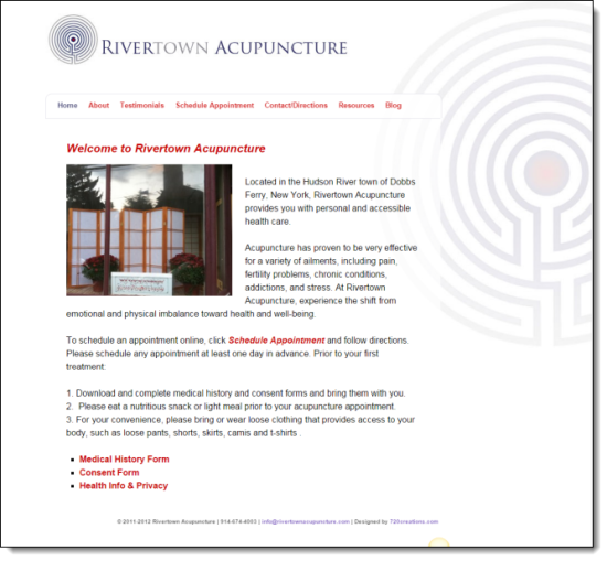 rivertown-acupuncture-website