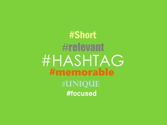 Hashtag best practise