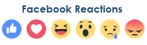 facebook reaction emojis