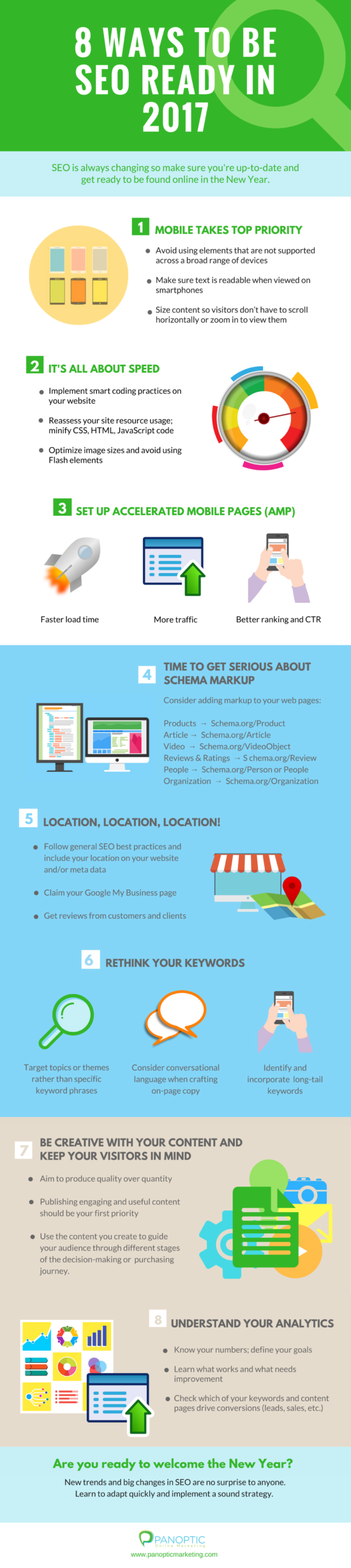 8-ways-to-be-seo-ready-in-2017-infograpics-infographics