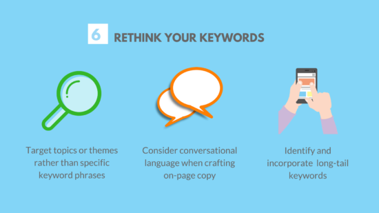 Rethink your keywords