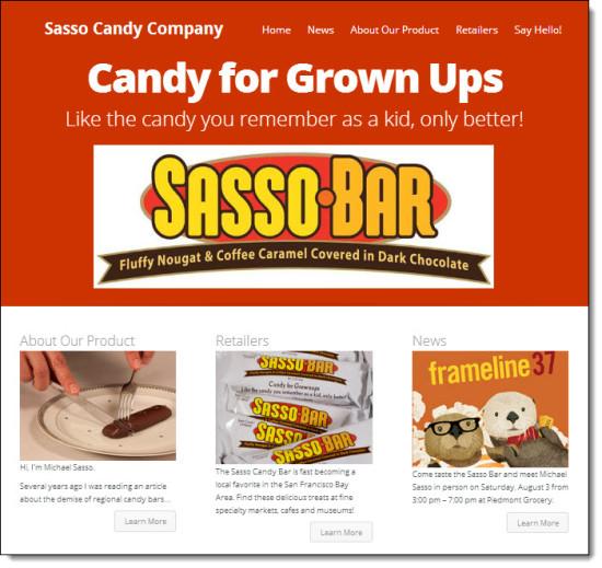 Sasso Candy Blog