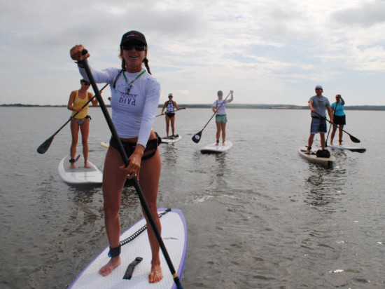 Paddle Diva Group Tours