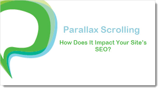 paralllax scrolling and seo