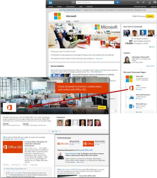 LinkedIn SHowcase Pages | Panoptic Online Marketing, LLC