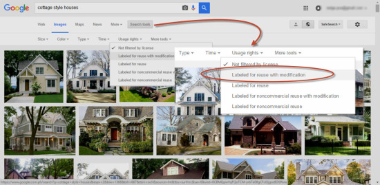 Google Advance Image Search