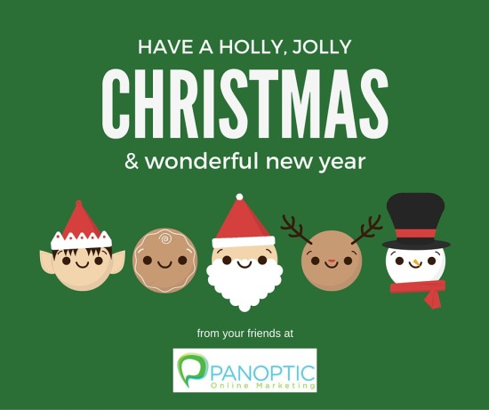 Christmas greeting from Panoptic