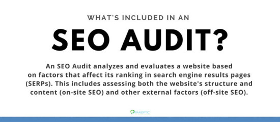 what is included in an SEO Audit