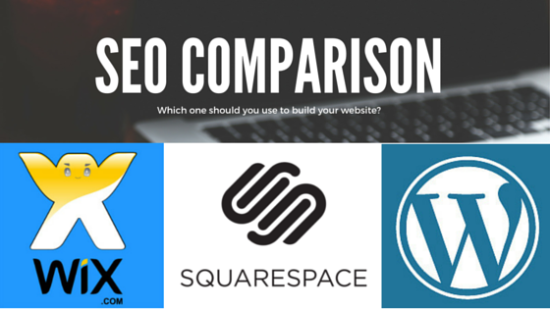 Wix vs Squarespace vs WordPress