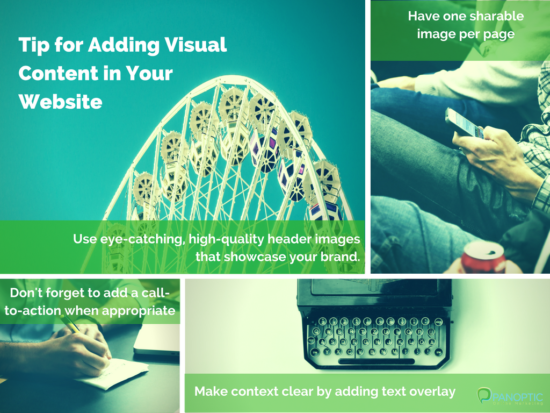 Tips for creating visual content