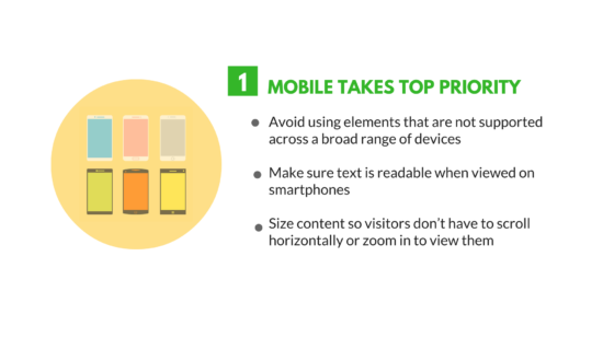 mobile takes top priority